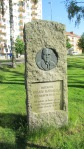 Memorial to Eskilstuna City's founder